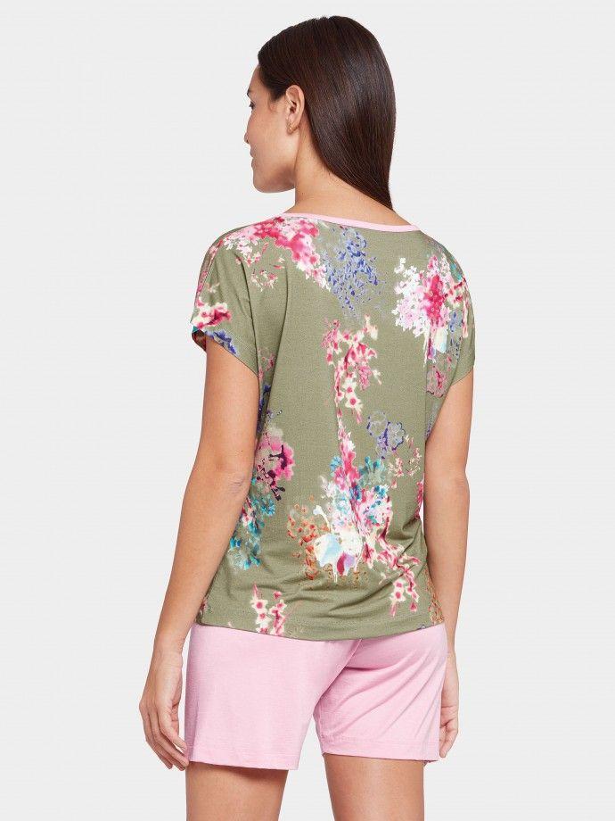 Pijama floral Camellia