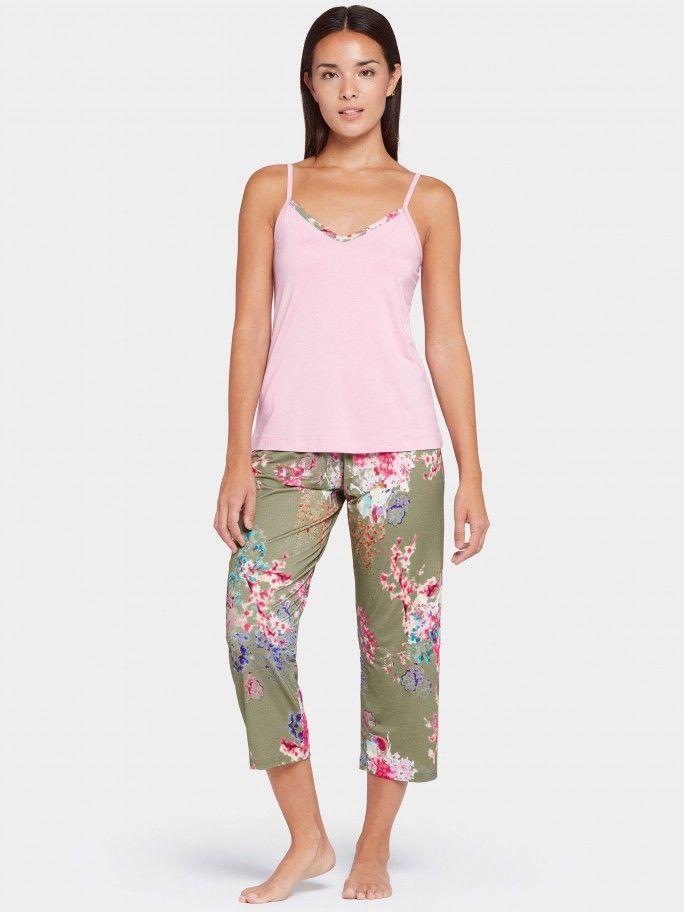 Pijama de alças Camellia