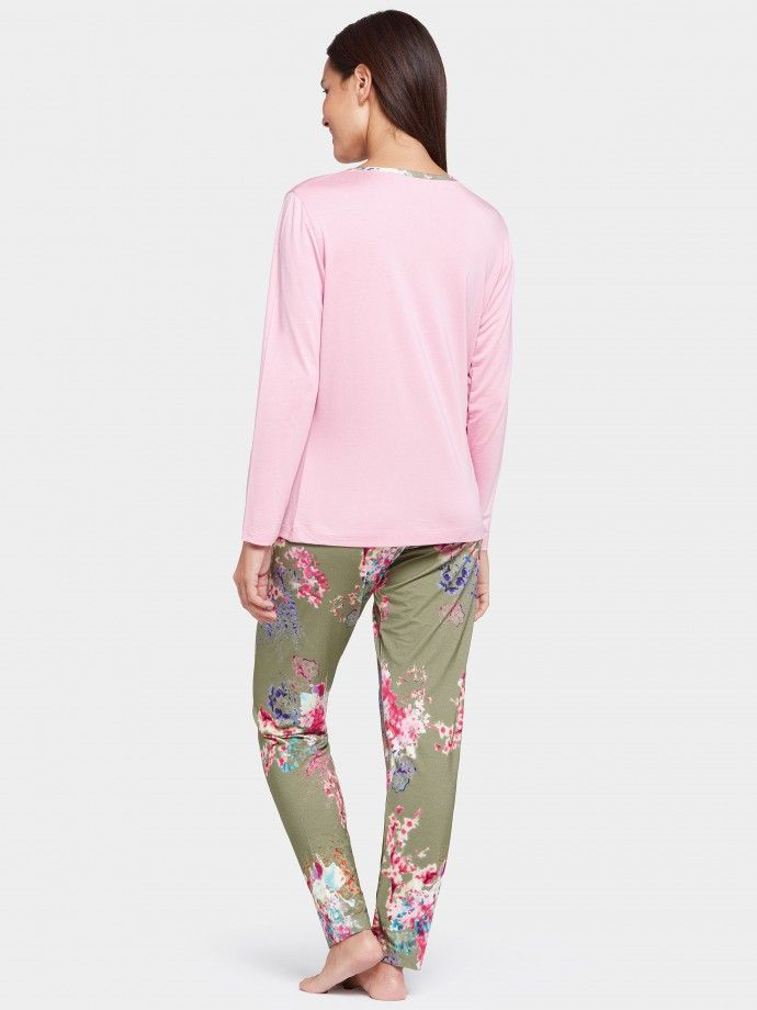Pijama longo Camellia
