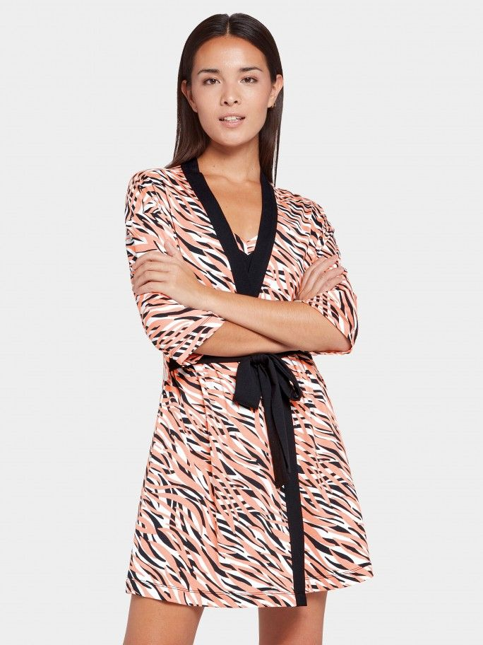 Robe estampado Sauvage