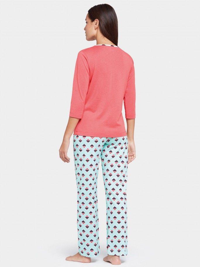 Pijama longo Art