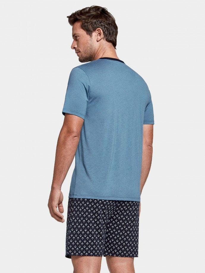 Pijama estampado Tiki
