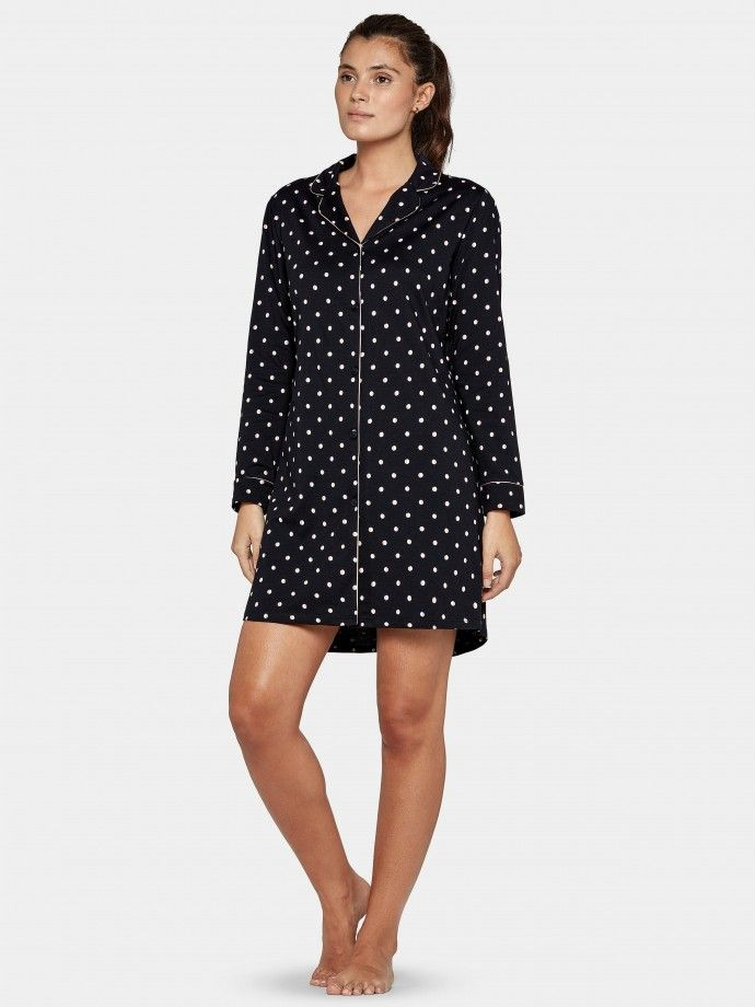 Buttoned Nighgown Glam